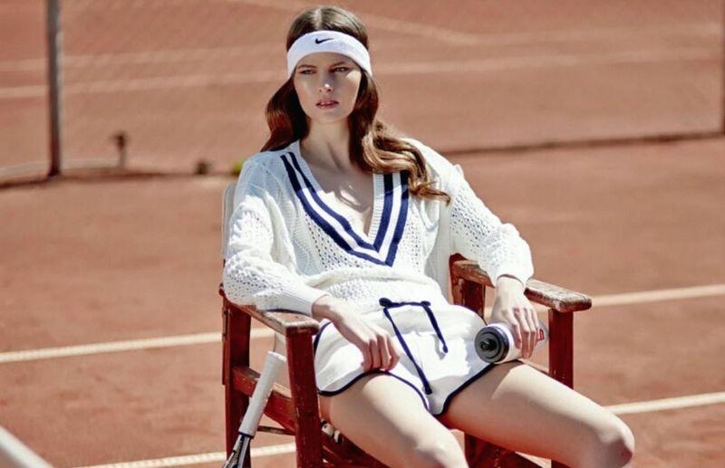 70s Throwback Tennis Fashion
