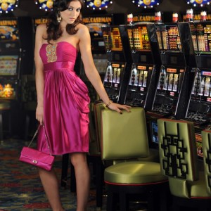 Cocktail Dress for Casino Event