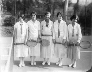 Ladies Sportswear History