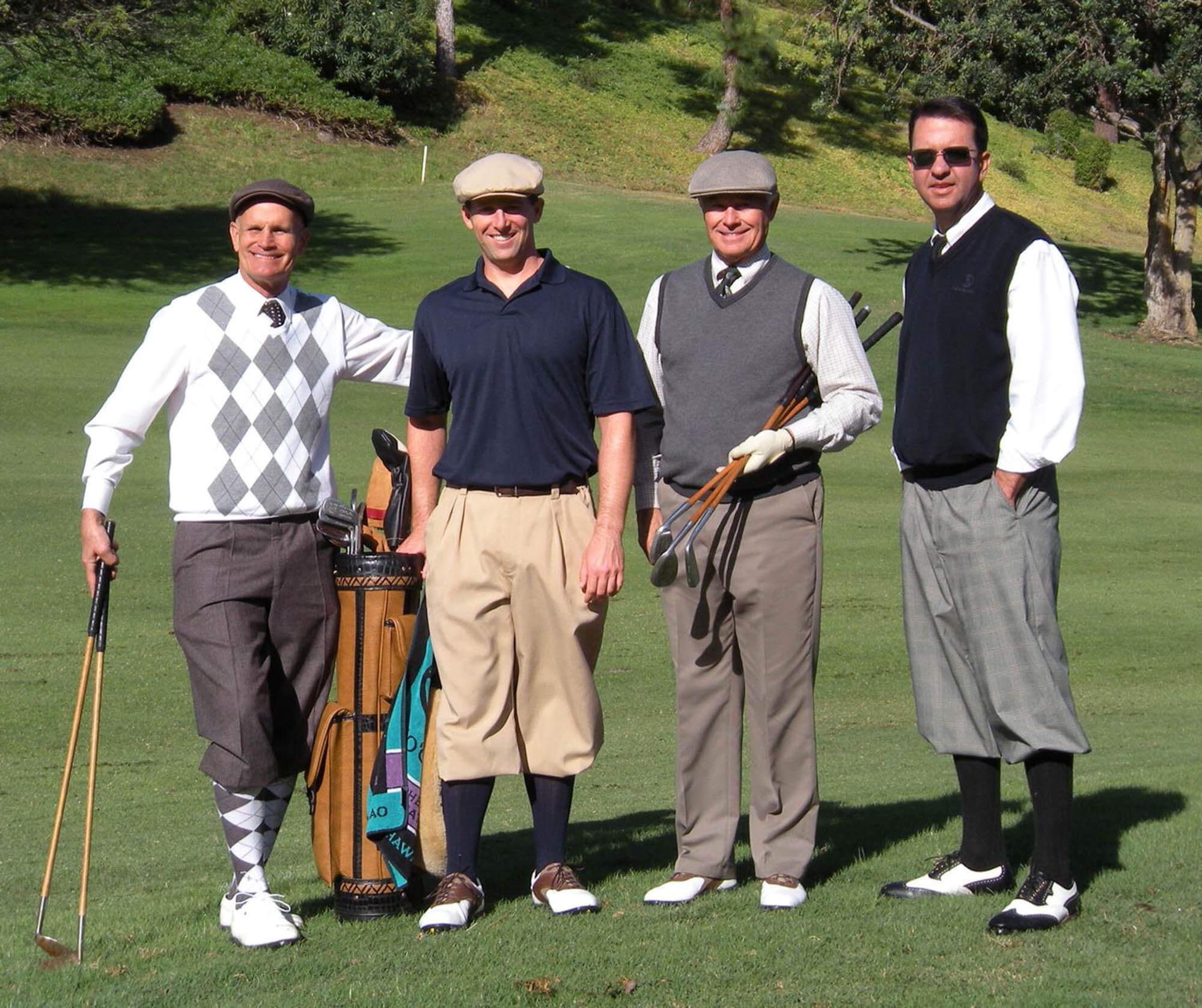 Old Fashioned Golf Shorts